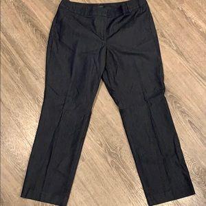 Dark Blue (blackish) Ann Taylor Petite trousers